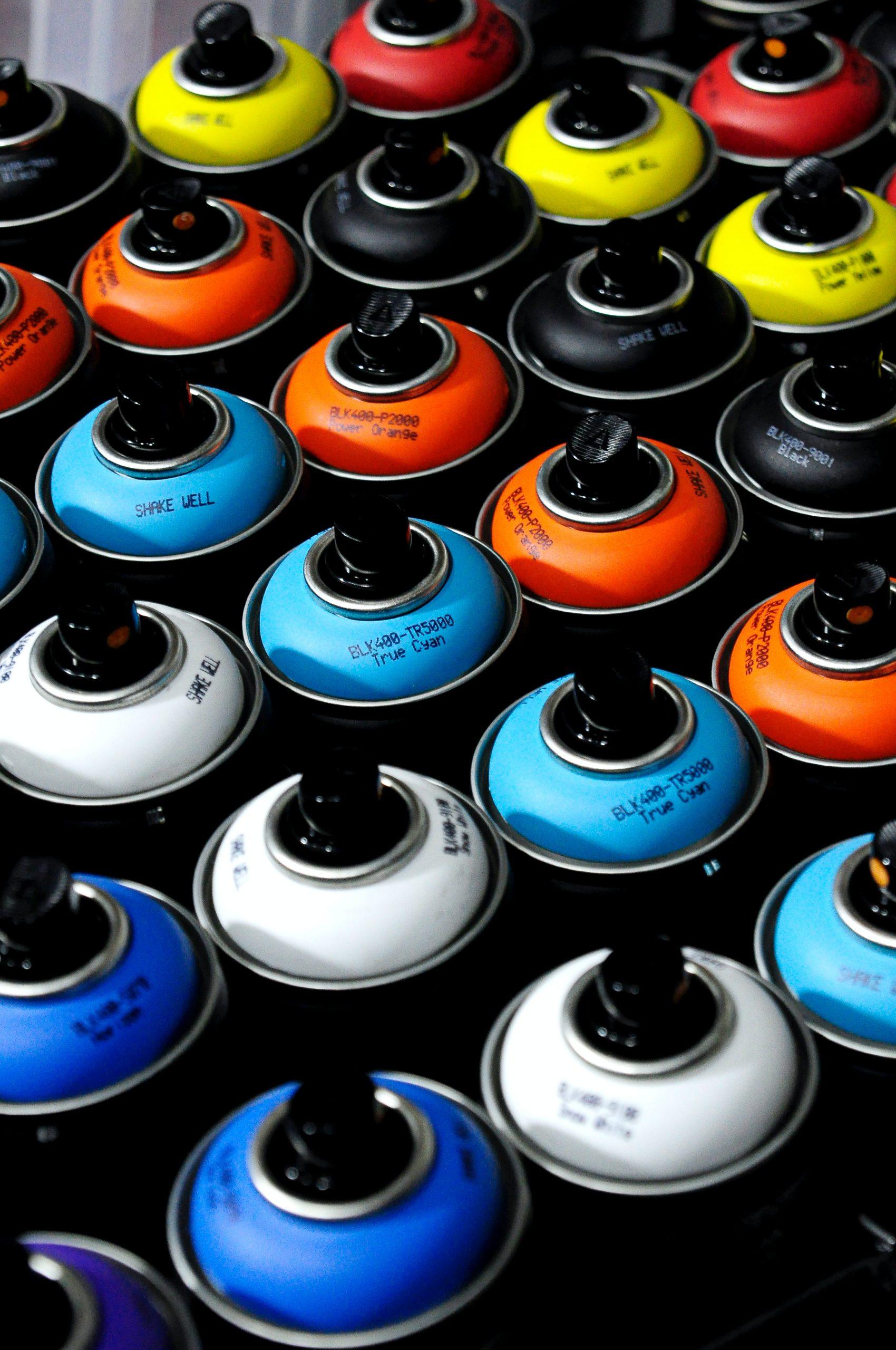 Få masser af fedt design med spraymaling