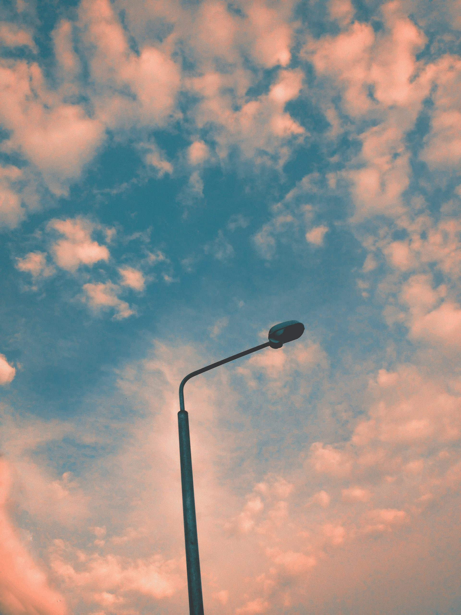 Lys op i mørket med en havelampe