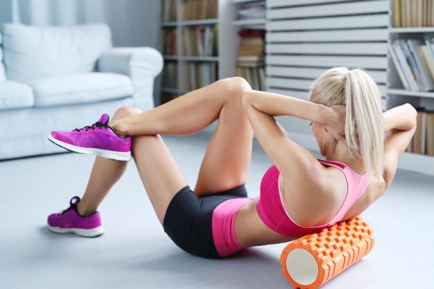 Brug en foam roller og få færre skader, når du træner